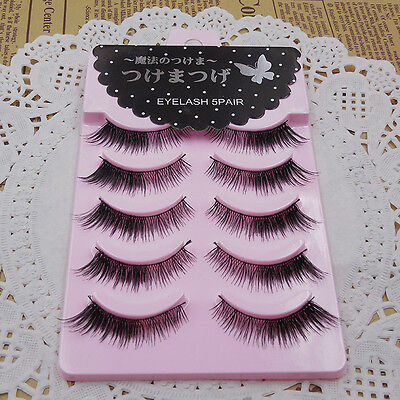 Brand NEW Diamond lash No.3 Winged eye lashes Thick False eyelashes