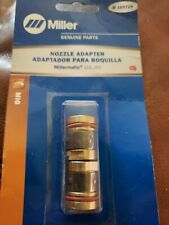 Miller Genuine Nozzle Adapter For Millermatic 212 252 Qty 2 169729