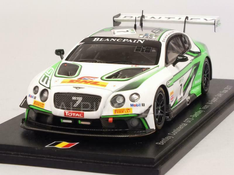 Bentley Continental GT3 Spa 2017 Smith - Jarvis - Kane 1 43 SPARK SB149