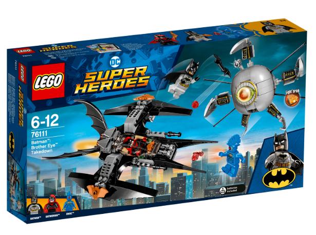 Lego Super Heroes 76111 DC Comics Batman Brother Eye Takedown  NEW & Unopened