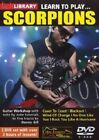 Lick Library Learn to Play Scorpions 5060088823354 DVD Region 2