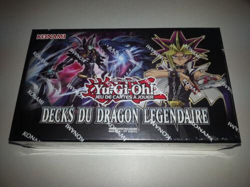 DECKS DU DRAGON LEGENDAIRE NEUF VERSION FRANCAISE Yu-Gi-Oh