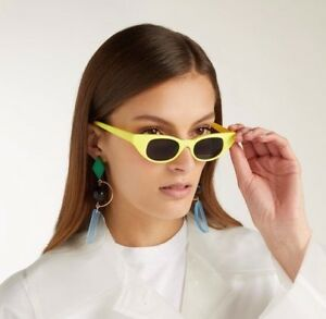 bfc2b8405e58a Le Specs LUXE Adam Selman The Breaker   NEW W TAGS   LIMITED Yellow ...