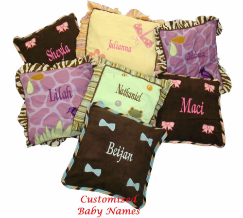 14 Pcs Crib Nursery Bedding including Lamp Shade Baby Boutique Rose Damask