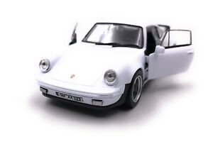 Porsche-911-Turbo-930-Sports-Car-Model-With-Desired-License-Plate-White-1-3-4