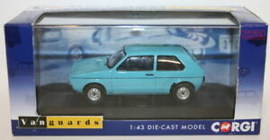 Vanguards-1-43-Scale-VA12008-Volkswagen-VW-Golf-MK1-1-1-Miami-Blue