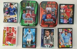 2019-and-2020-UEFA-Champions-and-EPL-Soccer-Cards-Lot-of-200-cards-2-tins