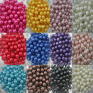 Wholesale-Glass-Pearl-Round-Spacer-Loose-Beads-4mm-6mm-8mm-10mm