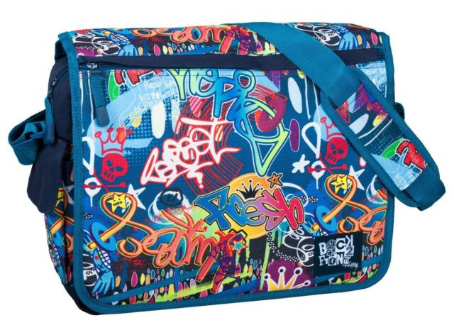 Official Trendy Designer Girls Boys Messenger Satchel School Travel Laptop Bag