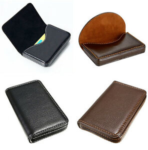 Waterproof-Business-ID-Credit-Card-Wallet-Holder-PU-Leather-Pocket-Case-Box