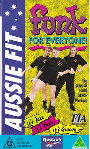 Aussie-Fit-FUNK-FOR-EVERYONE-VIDEO-VHS-Pal-SirH70