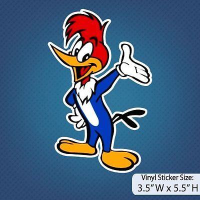 Woody Version B Woody Woodpecker Cartoon Sticker Decal