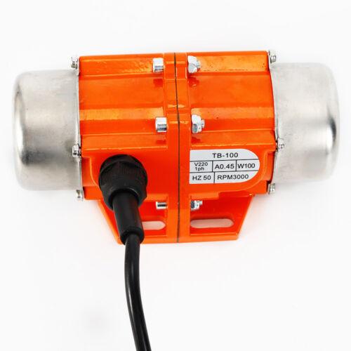 AC Vibration Motor 40//50//100W Vibrating Asynchronous Vibrator 220V 3000RPM