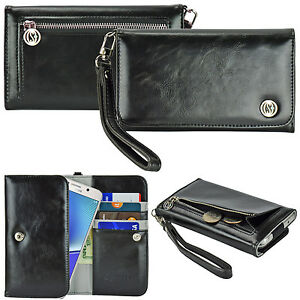 Women-039-s-Luxury-Wallet-Wrist-Strap-Bag-Purse-Case-for-Smartphone-Cell-Phone