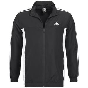 Knowledgeable Adidas Mens Track Jacket Top Zip Up Black 44/46 48/50 New Uk Clothing, Shoes & Accessories