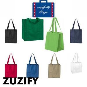 3e237f5a0 Image is loading Liberty-Bags-Non-Woven-Polypropylene-Reusable-Shopping-Bag-