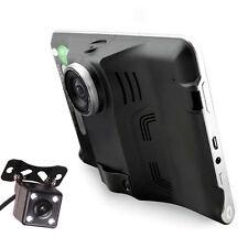 7 inch Android Tablet Car GPS Navi Quad Core DVR Radar Detector Reverse Cam 16GB