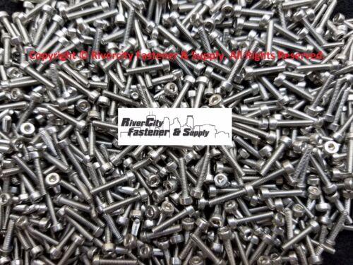 M2-0.4x10mm Socket 100 Allen Head Cap Screws Stainless Steel 2mm x 10mm