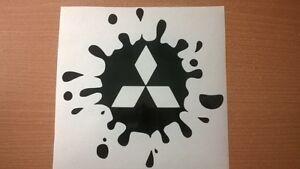 mitsubishi-shogun-evo-warrior-vinyl-car-sticker-decal-paint-mud-splat-4x4-funny