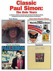 Classic Paul Simon - The Solo Years by Paul Simmon (Paperback / softback, 1996)