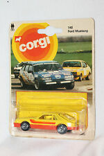 CORGI JUNIORS #140 FORD MUSTANG COBRA, MINT ON CARD