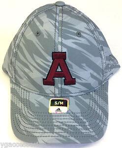 buy popular 06320 4f5ea Image is loading NCAA-Alma-College-Scots-Adidas-Grey-Camo-Structured-