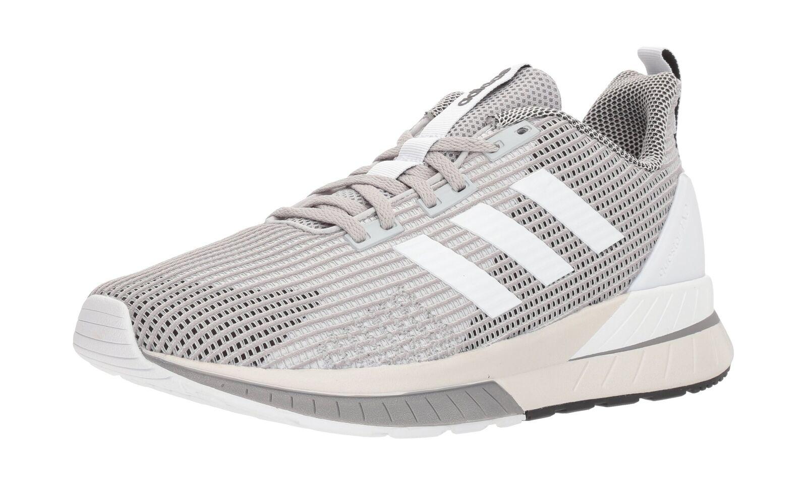 Adidas uomini questar e scarpe da corsa / grigio / corsa bianco / grigio due tre 11 d (m) us b7c774