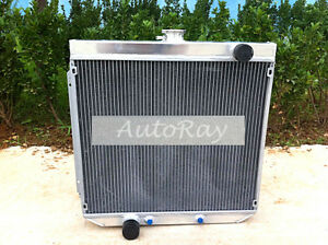 Aluminum-Radiator-For-Ford-XY-XW-302-GS-GT-Cleveland-1969-1972-FAIRLANE-ZA-ZB-ZC