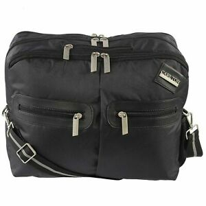 Carlton London 16.5 inch Leatherette Fabric Unisex Messenger Bag