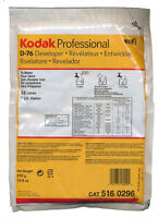Kodak D-76 Developer Powder Makes 1 Gallon For Black And White Film 5160296