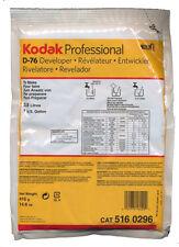 Kodak D-76 Developer Powder makes 1 Gallon for Black and White Film 5160296