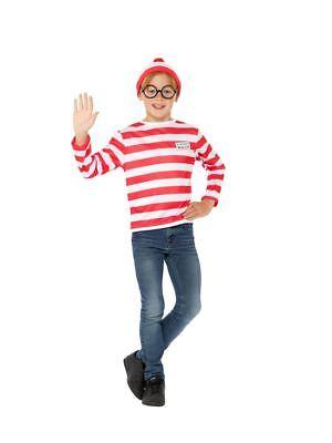 Dov'È Wally? Kit Istantaneo, Dov'è Wally Con Licenza Costume, Tween 12+-mostra Il Titolo Originale Una Vasta Selezione Di Colori E Disegni