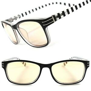 aac5e1dc0f81 Details about Modern Stylish Mens Womens Fashion Yellow Tint Cool Computer Reading  Glasses B61