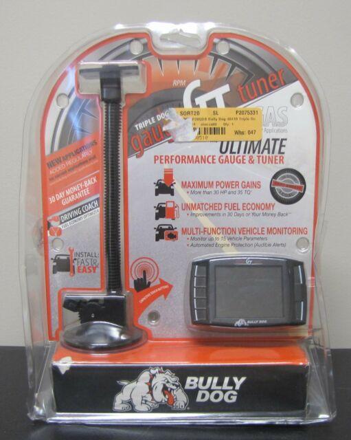 NEW BULLY DOG 40410 TRIPLE DOG GT GAS GAUGE TUNER | eBay