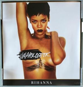 Rihanna-Unapologetic-naked-nude-tattoo-poster-19-034-x-18-034-print-4266-of-10000-EX