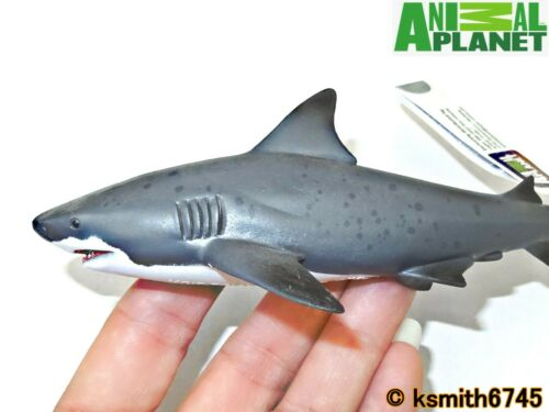 Mojo Animal Planet BULL SHARK solid plastic toy wild FISH sea marine NEW