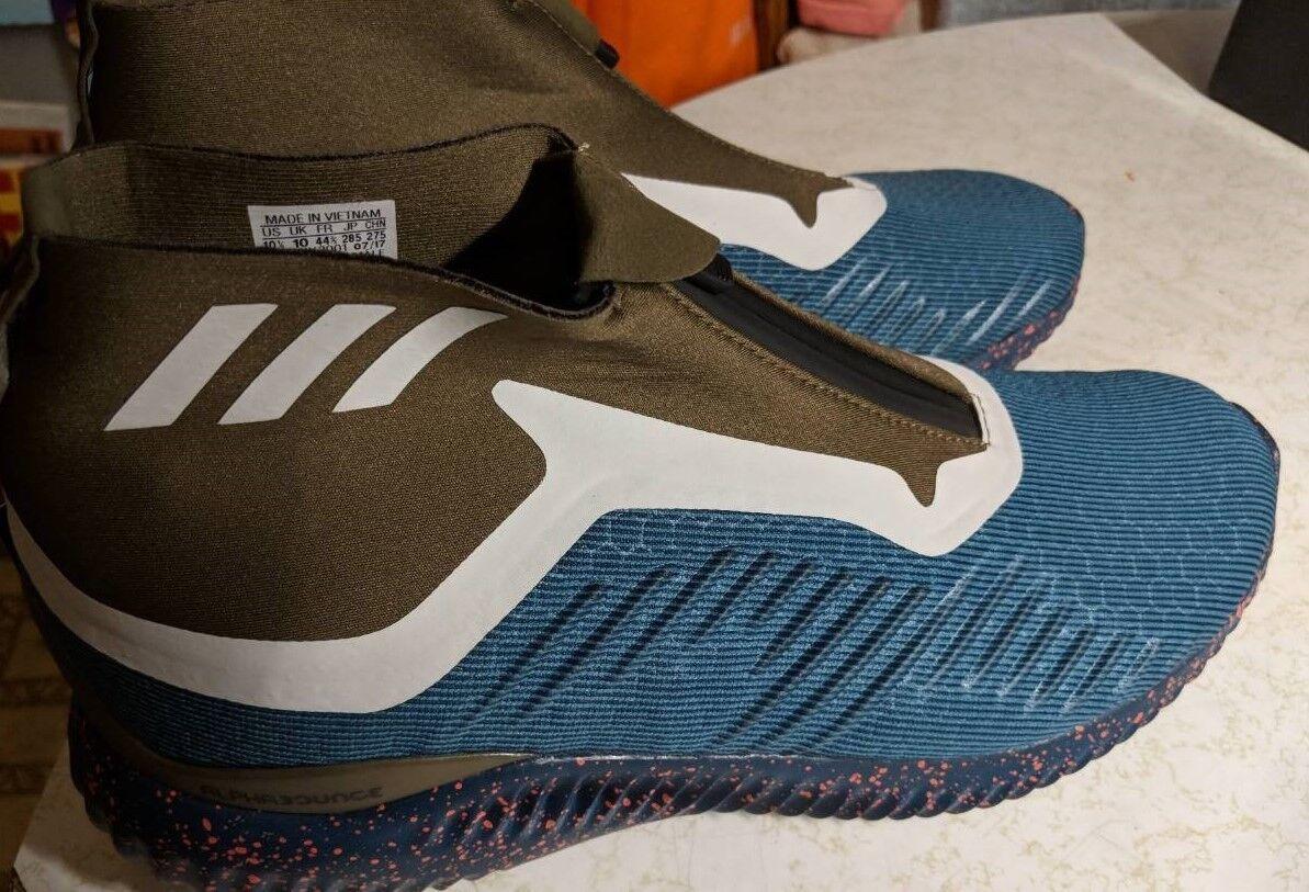Adidas alphabounce 5,8 - schuhe - Blau - größe 10,5