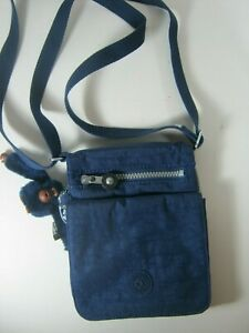 El Dorado Credit Card >> Details About Kipling El Dorado Ac8457 Ink Blue Bag Purse Nwt 49