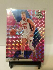 Blake-Griffin-2019-20-Panini-Mosaic-37-CAMO-PINK-PRISM-Detroit-Pistons