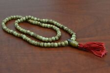 108 PCS BROWN TIBETAN BUDDHIST BONE MALA PRAYER BEADS 6MM #T-1811