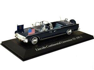 Limusina-1963-lincoln-continental-john-f-kennedy-maqueta-de-coche-metal-1-43