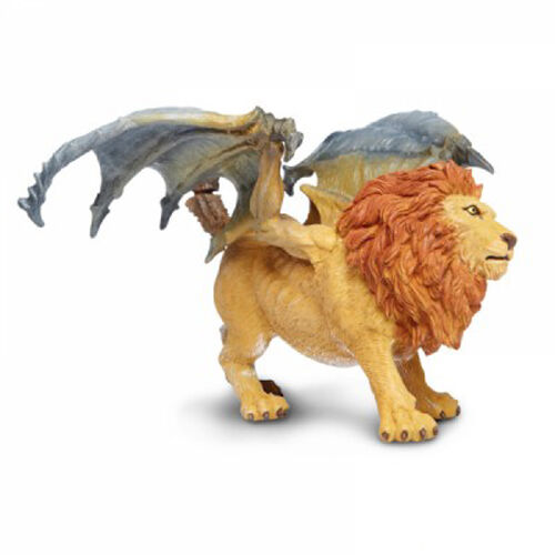 Safari Ltd. 802629 Manticore Lion Dragon Mythical Creature Gamer Toy Model NIP