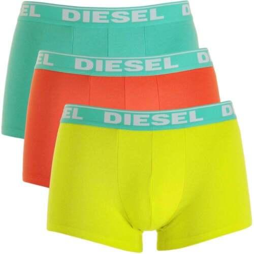 Giallo Arancio DIESEL Men/'s Fresh /& Bright 3-Pack Boxer Trunk UMBX-Shawn Verde