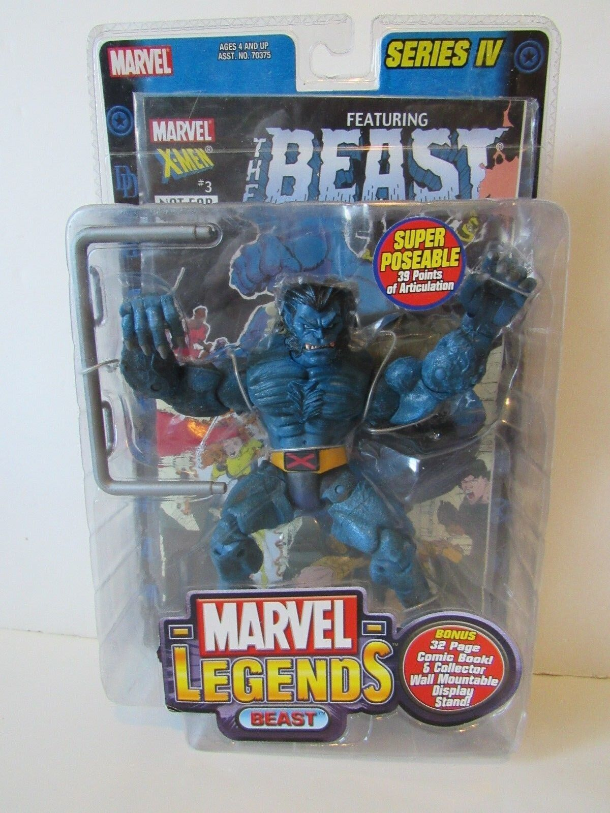 Marvel Legends X Men Series 4 IV Super Poseable 6