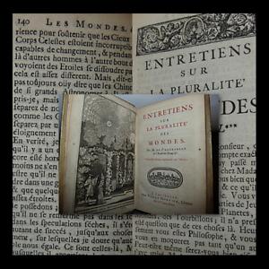 Fontenelle-Entretiens-Pluralite-des-Mondes-Mortier-1701-Alieni-Fantascienza