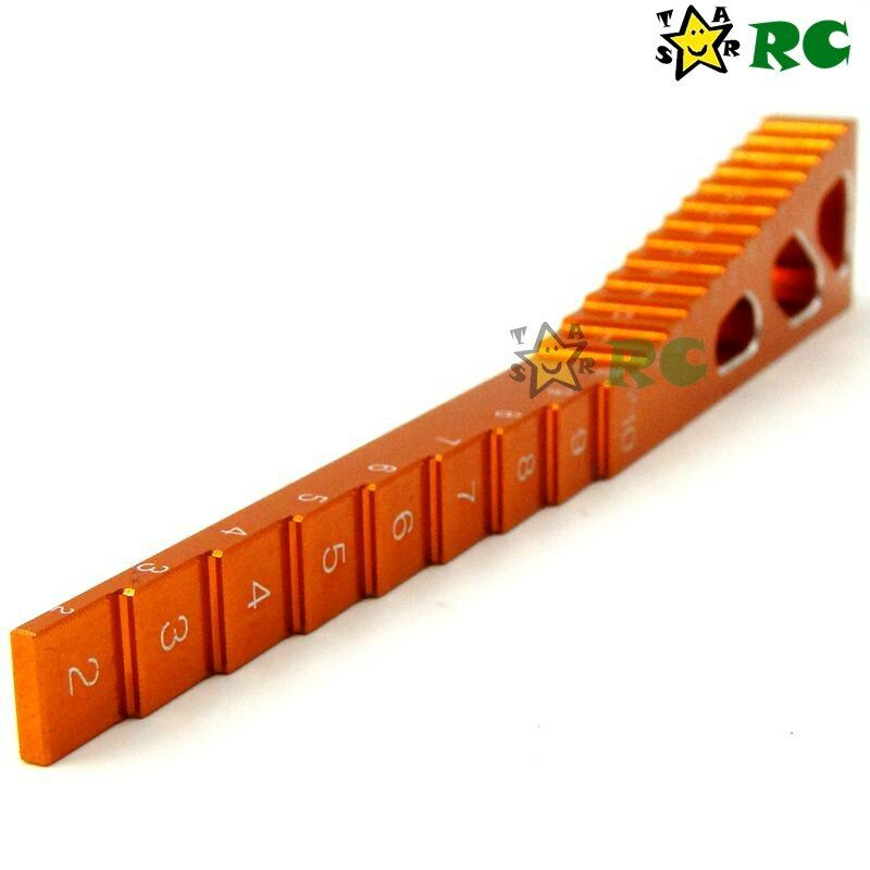 6pcs RC tuttioy Chassis Chassis Chassis Droop Gauge & Ride Height strumentos For 1 10 Touring Drift auto 17c77c
