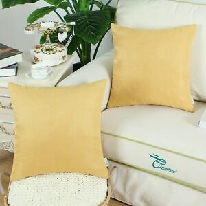 Square-Pillows-Cases-Cushions-Covers-Shell-Heavy-Faux-Suede-Home-Decor-45X45