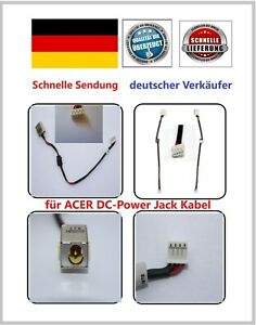 Acer-Aspire-DC-Power-Jack-Kabel-E1-570-521-531-531G-Strom-Lade-Netzteil-Buchse