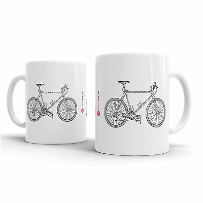 Retro Classics 1989 Otis Guy Braunstein Quay Art Of The Mountain Bike Tazza-b..-
