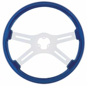 "218"" STEERING WHEEL ( BLUE) PETERBILT  KENWORTH  FREIGHTLINER INTERNATIONAL"